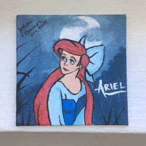Other - The Little Mermaid Ariel Mini Painting